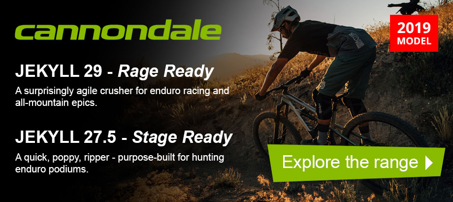 Cannondale Jekyll 2019 Models - Explore the range