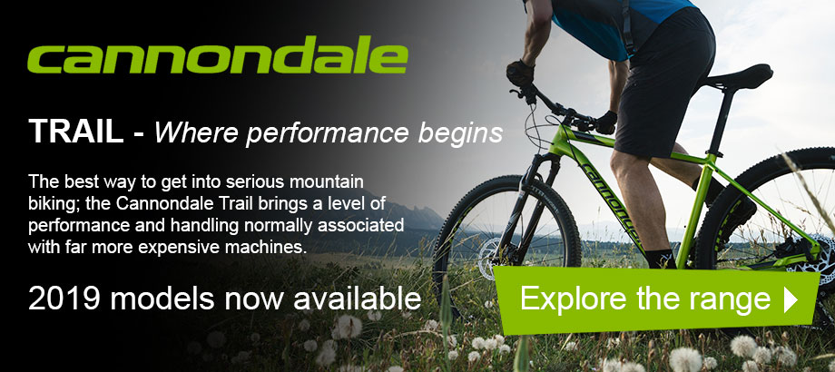 Cannondale Trail 2019 Models - Explore the range