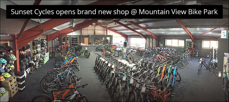Sunset Cycles opens brand new shop @ Mountain View Bike Park