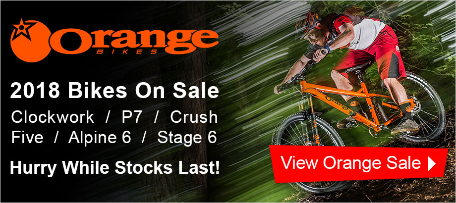 Orange 2018 Bike Clearance - Hurry While Stocks Last!