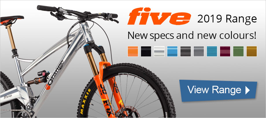 Orange Five 2019 Models - Explore the range
