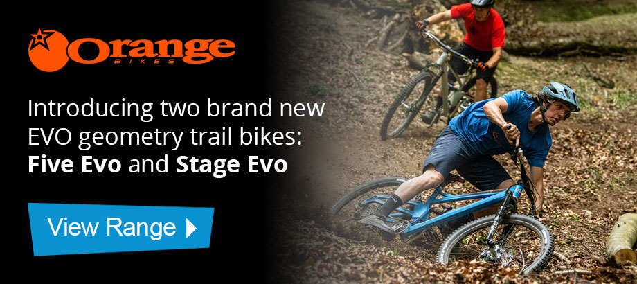 Introducing two brand new EVO geometry trail bikes: Five Evo and Stage Evo