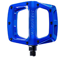 DMR V8 New Pedals (Deep Blue Metallic)