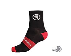 Endura FS260-Pro Sock (Twin Pack) (Black)