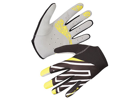 Endura Hummvee Lite Cycling Glove (Yellow)