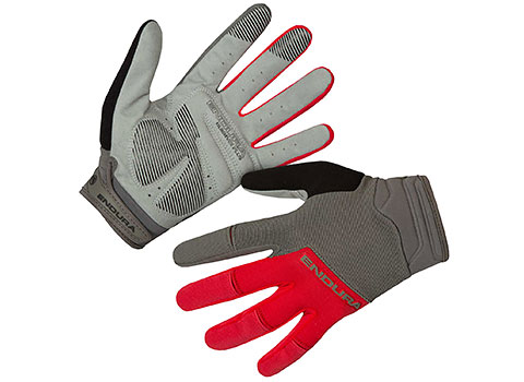 Endura Hummvee Plus Glove II (Red)