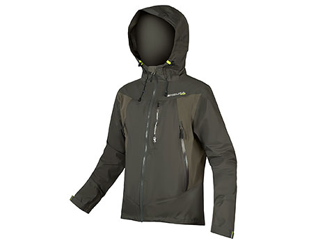Endura MT500 Waterproof Jacket II (Khaki)