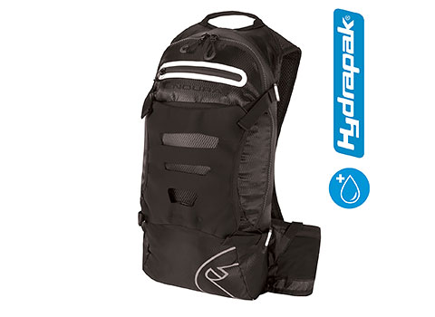 Endura SingleTrack Backpack with Hydrapak (Black)