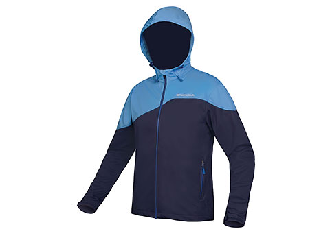 Endura SingleTrack Softshell Jacket (Navy)