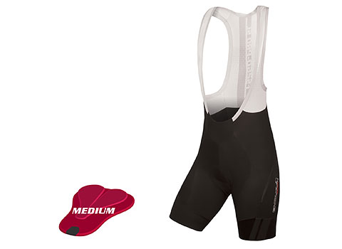 Endura Women's Pro SL Bibshort DS (medium-pad) (Black)