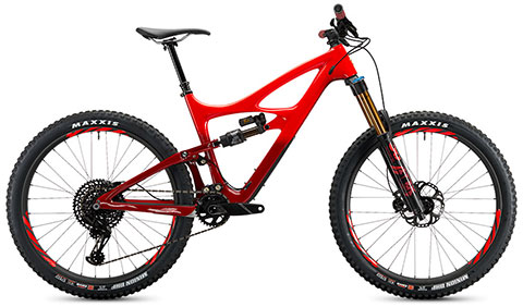 Ibis 2019 Mojo HD4 GX Eagle Werx (Red)
