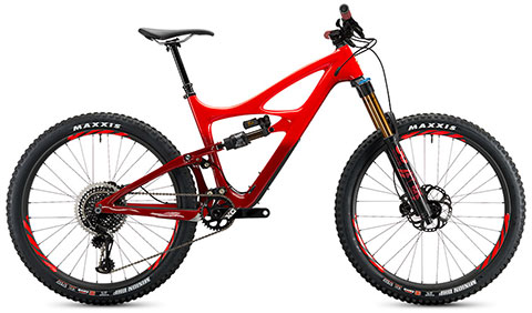 Ibis 2019 Mojo HD4 X01 Eagle Werx (Red)