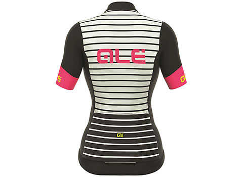 Alé Women's R-EV1 Marina Short Sleeve Jersey (Black/White)
