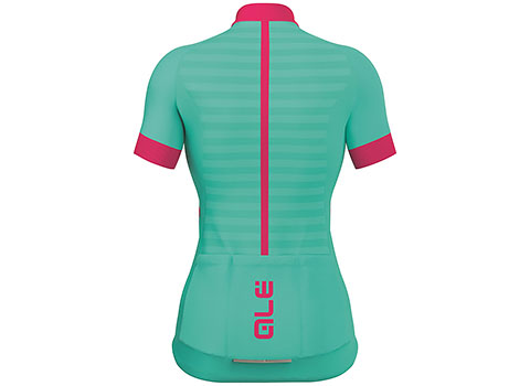 Alé Women's Excel Riviera Short Sleeve Jersey (Turquoise/Magenta)