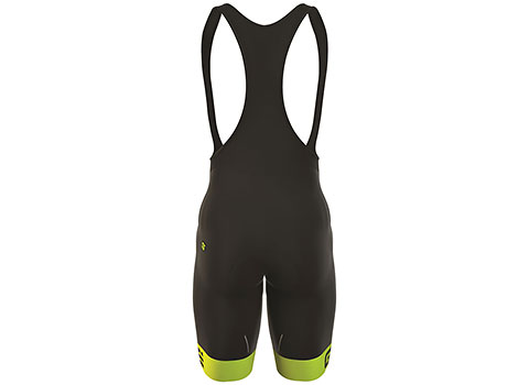 Alé Men's Excel G.T. Bibshort (Black/Yellow)
