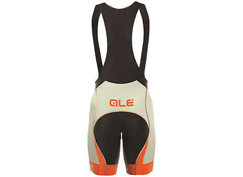 Alé Men's Graphics PRR Arcobaleno Bibshorts (Grey/Orange)