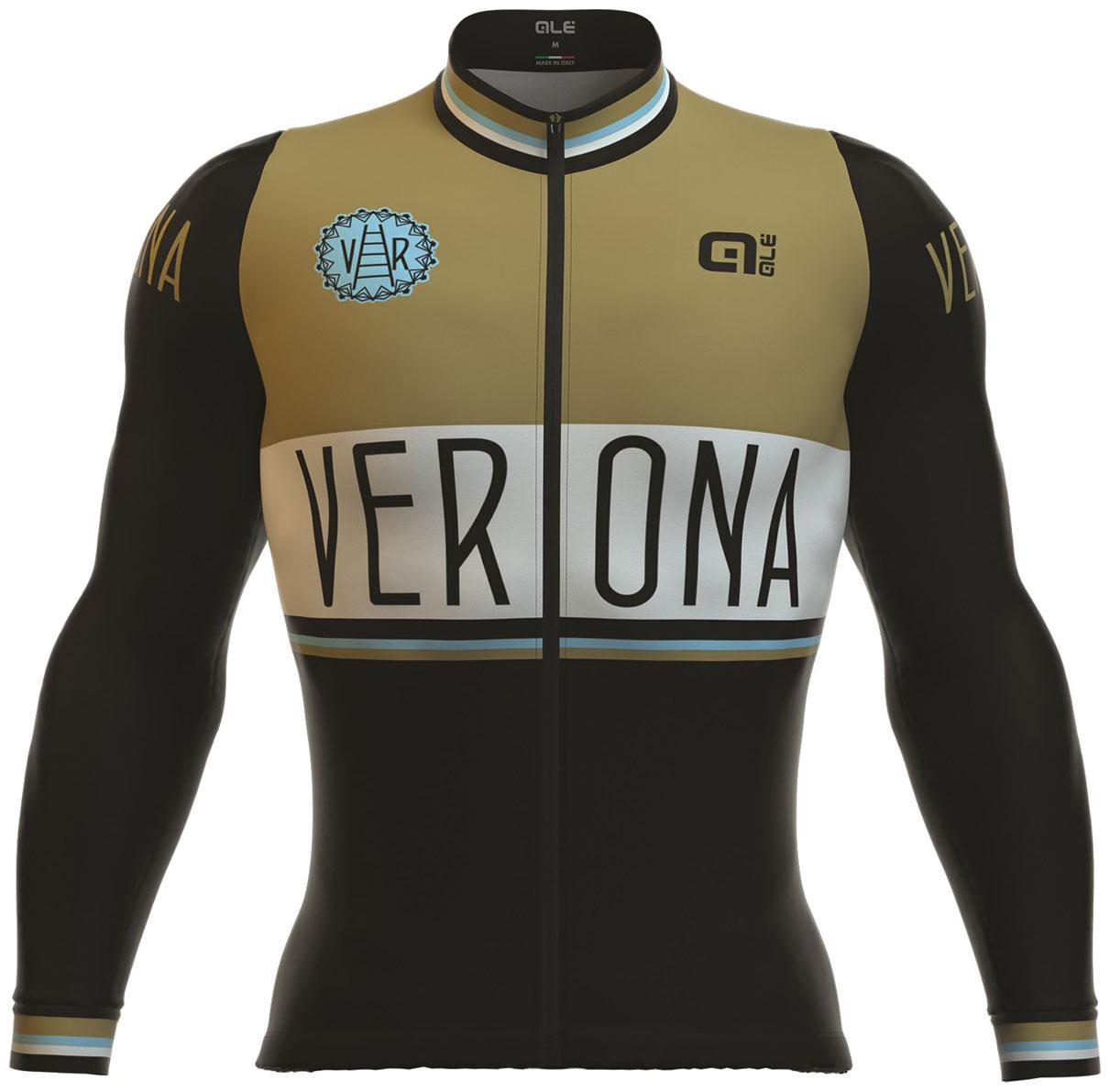 Al men 39 s classic verona long sleeve jersey black for Uniform verona