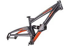 Orange 2020 329 Frame 29 (Including rear shock)
