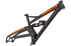 Orange 2020 Alpine 6 Frame 27.5 (Including rear shock)