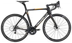 Pinarello 2017 Gan GR Disc Shimano 105 Carbon/Orange Fluo Matte