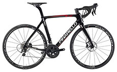 Pinarello 2017 Gan K Disc Carbon/Red Shiny