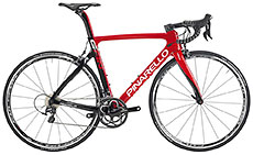 Pinarello 2017 Gan S Ultegra Red/Carbon Shiny