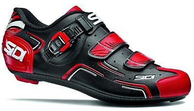 Sidi Level Road Cycling Shoes (Black/Red/White)