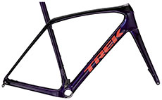 Trek 2021 Domane SL Disc Frameset (Purple/Black)