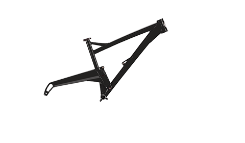 Segment Frame Colour Jet Black