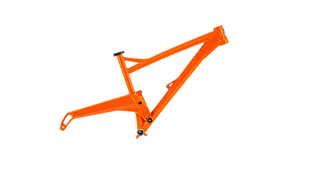 Segment Frame Colour Fizzy Orange