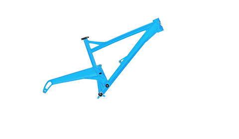 Segment Frame Colour Cyan Blue