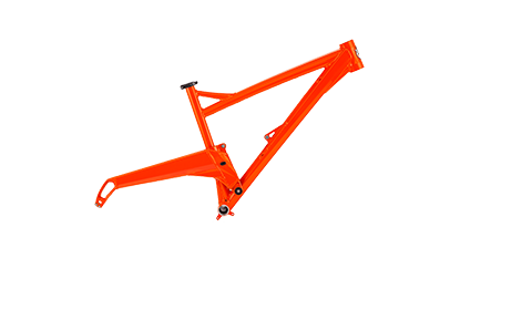 Segment Frame Colour Atomic Orange