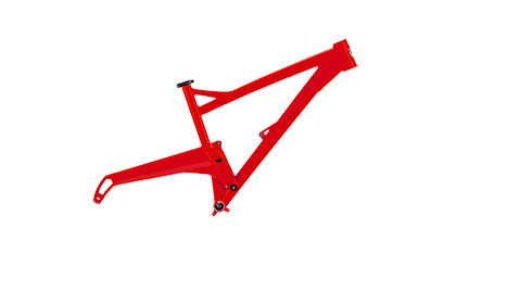 Segment Frame Colour Blood Red