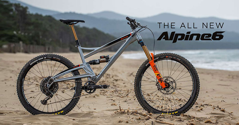 Orange Alpine 6 Bike View Range