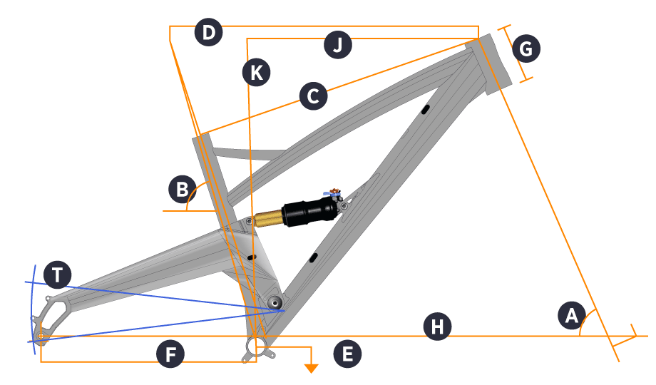 Orange 2019 Five Frame Geometry