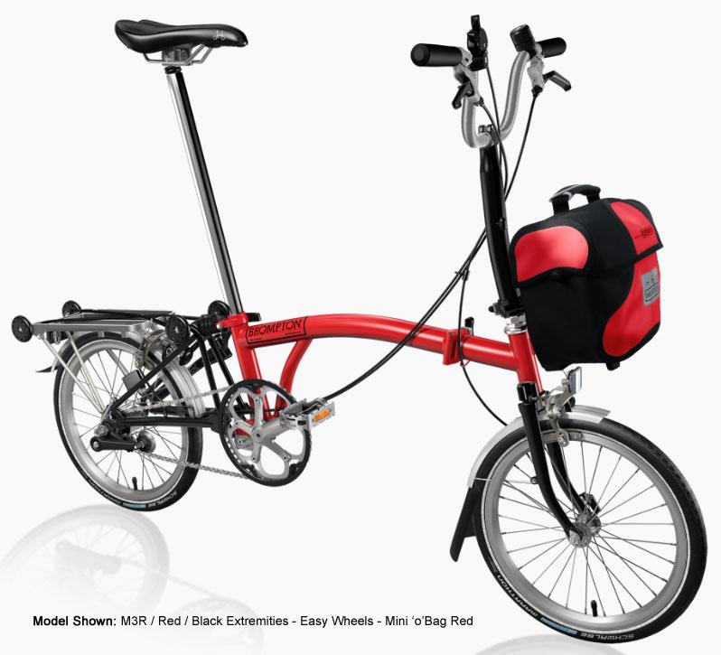 Brompton M Type Folding Bike-B Spoke Custom Build