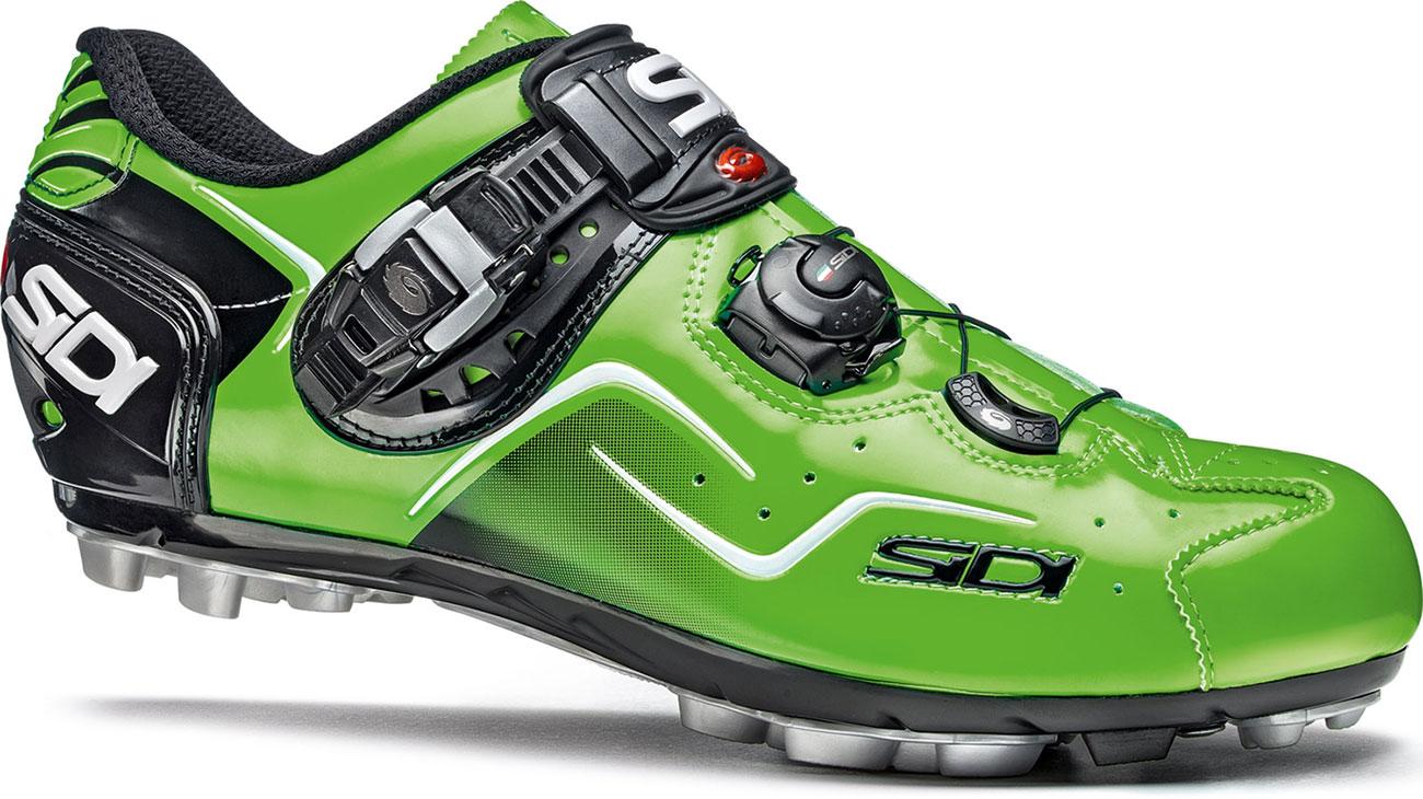 Sidi Mtb Cape Cycling Shoes Green Fluo