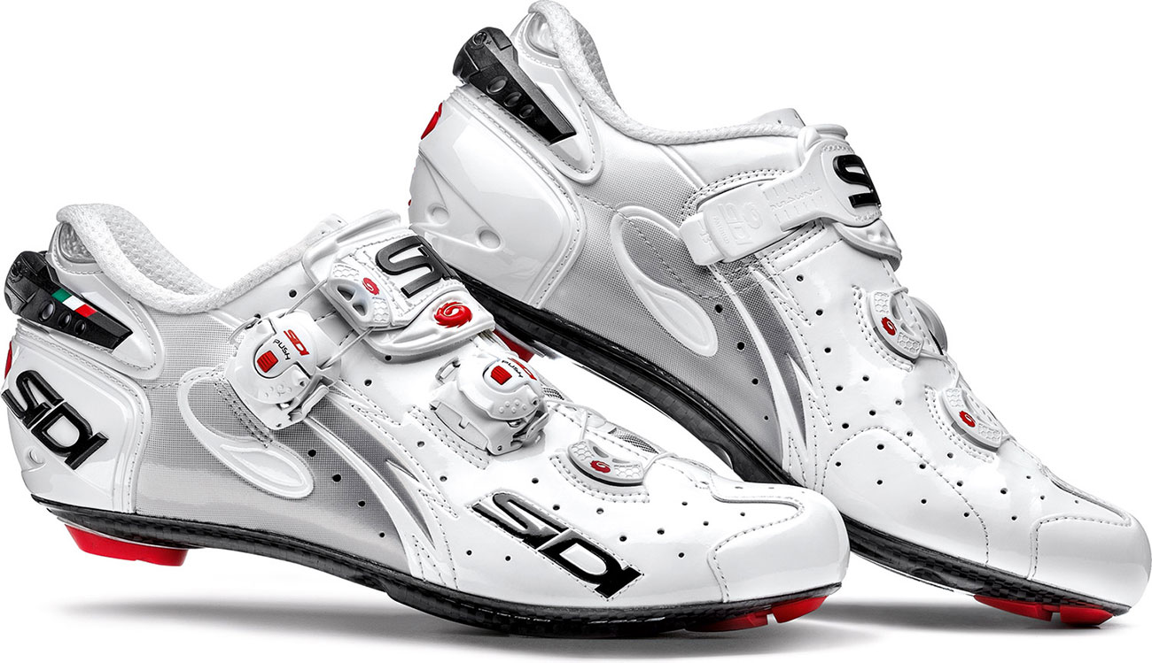 Sidi Wire Carbon Speedplay (SP) Road Cycling Shoes (White)