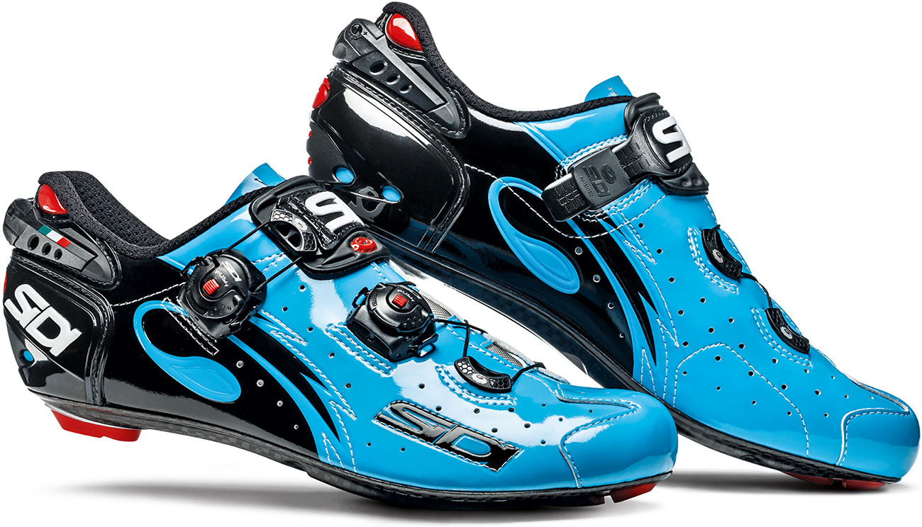 Sidi Wire Carbon Chris Froome Road Cycling Shoes Blue Sky