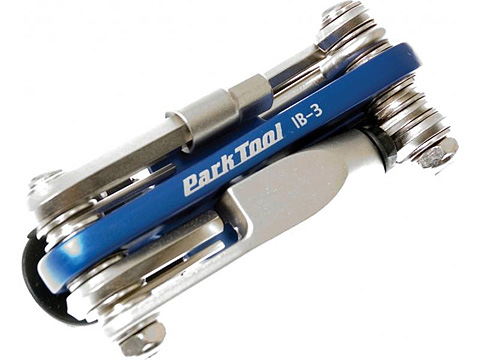 Park Tools IB3C - I-Beam Mini fold-up hex wrench