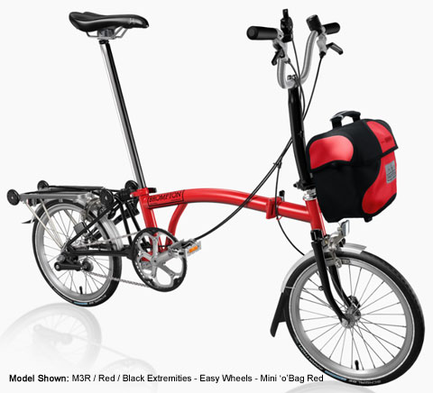 Brompton M Type Folding Bike - B Spoke  Custom Build