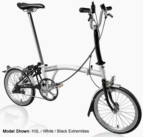 Brompton H Type Folding Bike - B Spoke Custom Build