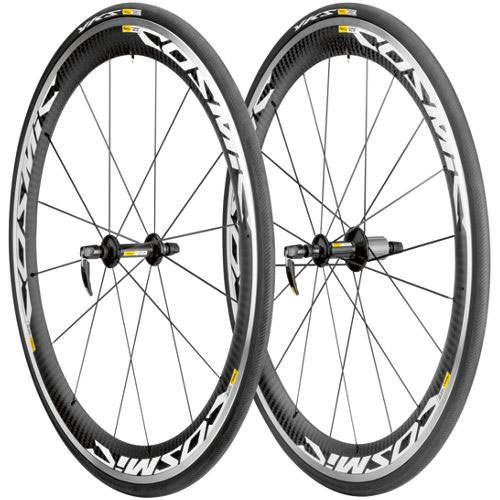 Mavic Cosmic Carbone SLS Road Wheelset inc Tyres