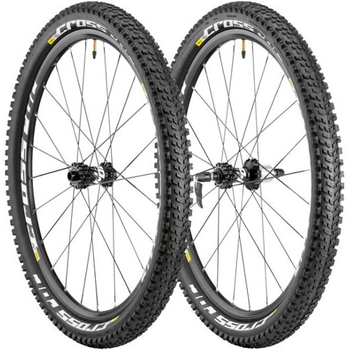 Mavic Crossroc Disc MTB Wheelset inc tyres (all sizes)