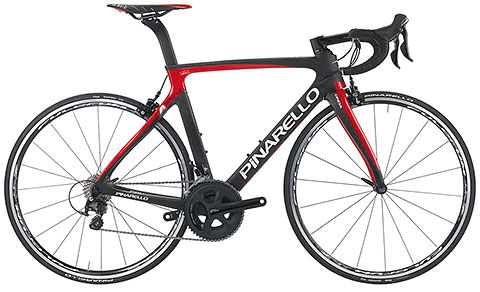 Pinarello 2016 Gan S Ultegra/MOst Black/Red