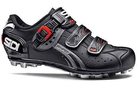 Sidi MTB Dominator 5-Fit Mega Cycling Shoes (Black)
