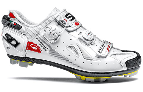 Sidi MTB Dragon 4 Cycling Shoes (White)