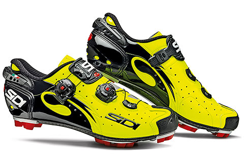 Sidi MTB Drako Cycling Shoes (Yellow Fluo/Black)