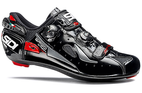 Sidi Ergo 4 Carbon Composite Mega Road Cycling Shoes (Black)