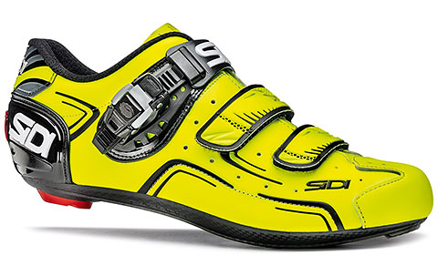 Sidi Level Road Cycling Shoes (Yellow Fluo/Black)